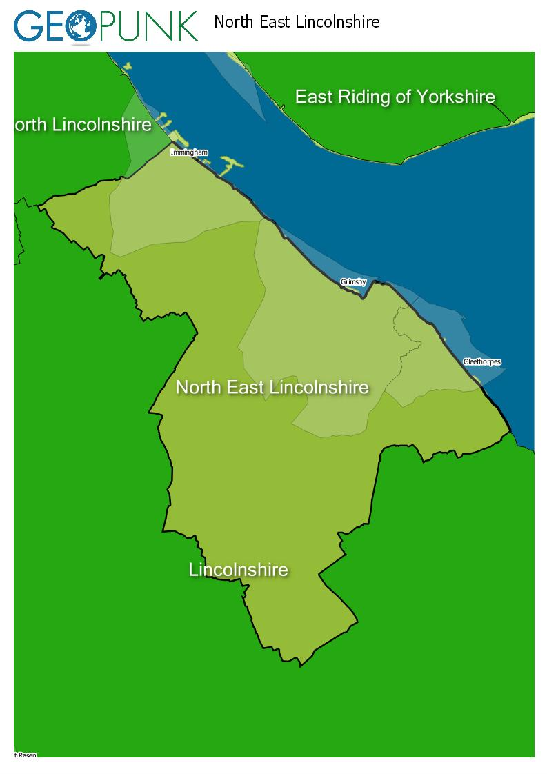 map of North East Lincolnshire