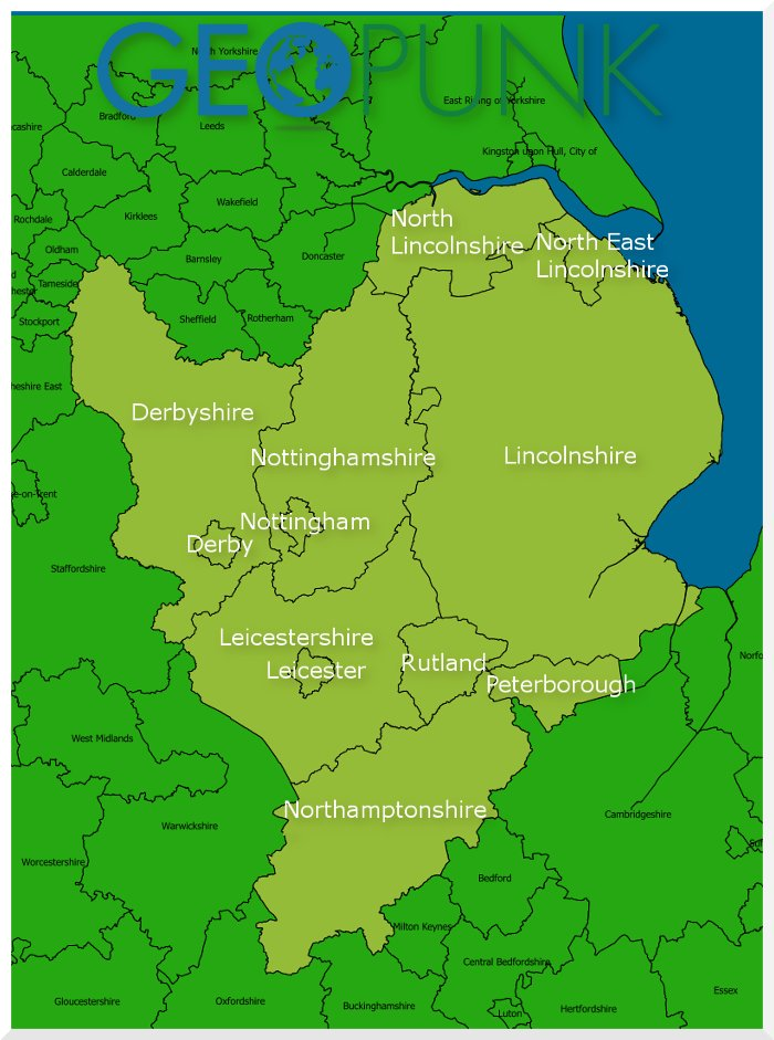 Traveline East Midlands Region