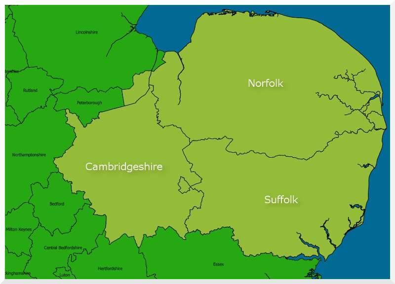 Eastern England Region