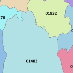 01730 View Map of the Petersfield Area Code