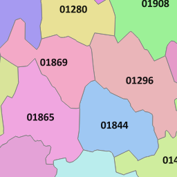 020 View Map of the London Area Code